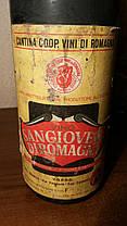 Вино 1973 року Sangiovese di Romagna, Італія, фото 3
