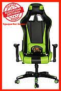 Компьютерное кресло Barsky SD-10 Sportdrive Game Green, геймерское кресло