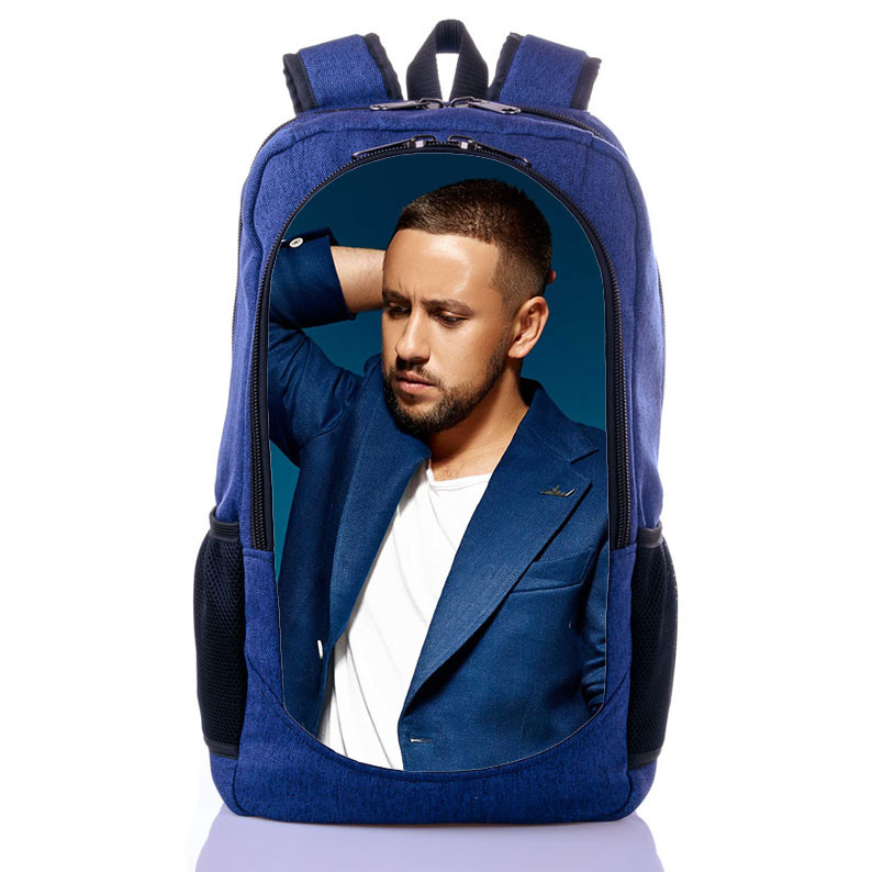 Рюкзак с принтом певец Дмитрий Монатик (backpack090)