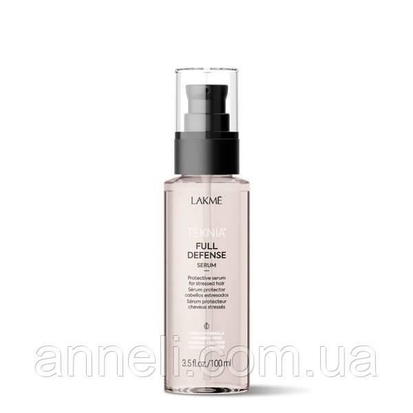 Сыворотка для комплексной защиты волос LAKME Teknia Full Defense Serum 100 мл