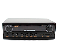 Усилитель звука UKC SN-302BT с пультом ДУ, Bluetooth, USB, SD, FM, MP3, 220V