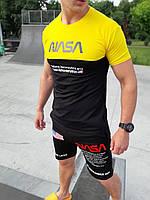 """Модная молодежная мужская футболка """"NASA"""" Разные цвета!"""