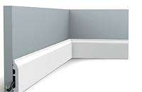 Плинтус гибкий напольный Orac Decor Axxent SX172F,(8.5x1.4x200 см),лепной декор из дюрополимера