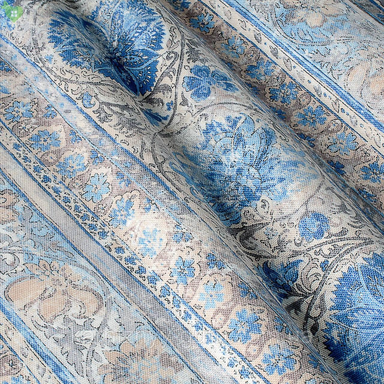 Декоративная ткань с волшебными классическими узорами на шевронах Испания 82882v1