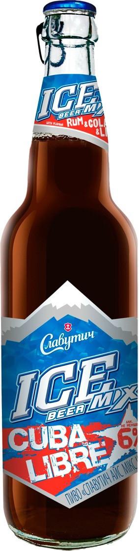 Пиво   Айс мікс Куба  Либре пет  0,5л