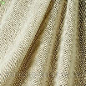 Однотонный тюль льняного цвета Испания 82871v1