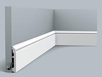 Плинтус гибкий напольный Orac Decor Axxent SX173F,(10x1.6x200 см),лепной декор из дюрополимера