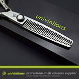 """Univinlions 6 """" дюймов профессиональные парикмахерские ножницы для стрижки волос комплект с чехлом JP440C VG10, фото 4"""