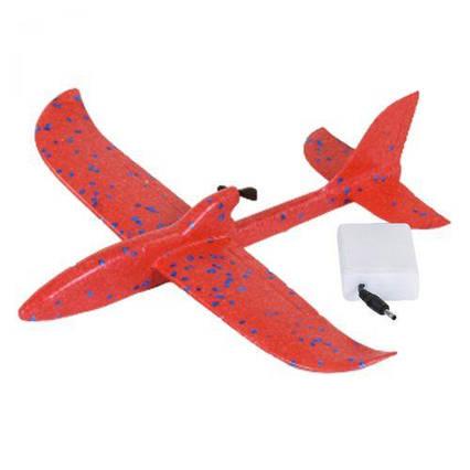Пенолет с электромотором (красный) C36779