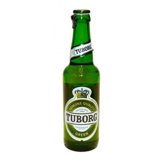 Пиво Туборг Грін 0,33л