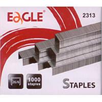 Скоби для степлера Eagle 2313 №23/13 1000шт/пак