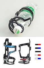 Флягодержатель с горизонтальной боковой загрузкой и фиксацией горлышка из пластика SOUL TRAVEL ST-B06