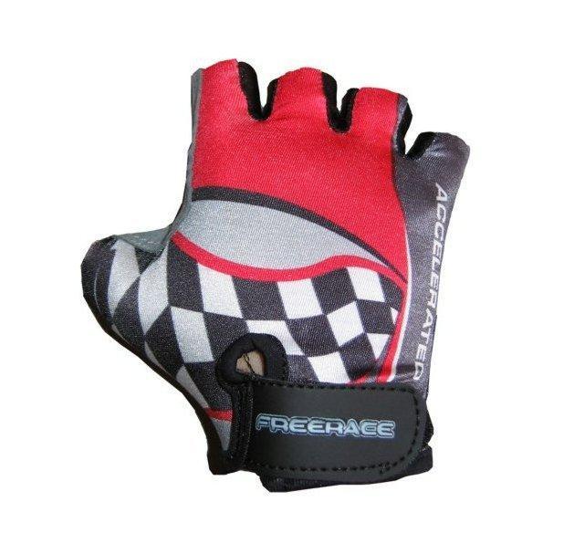 Велоперчатки детские Freerace FC-1000 (размер 4) Red
