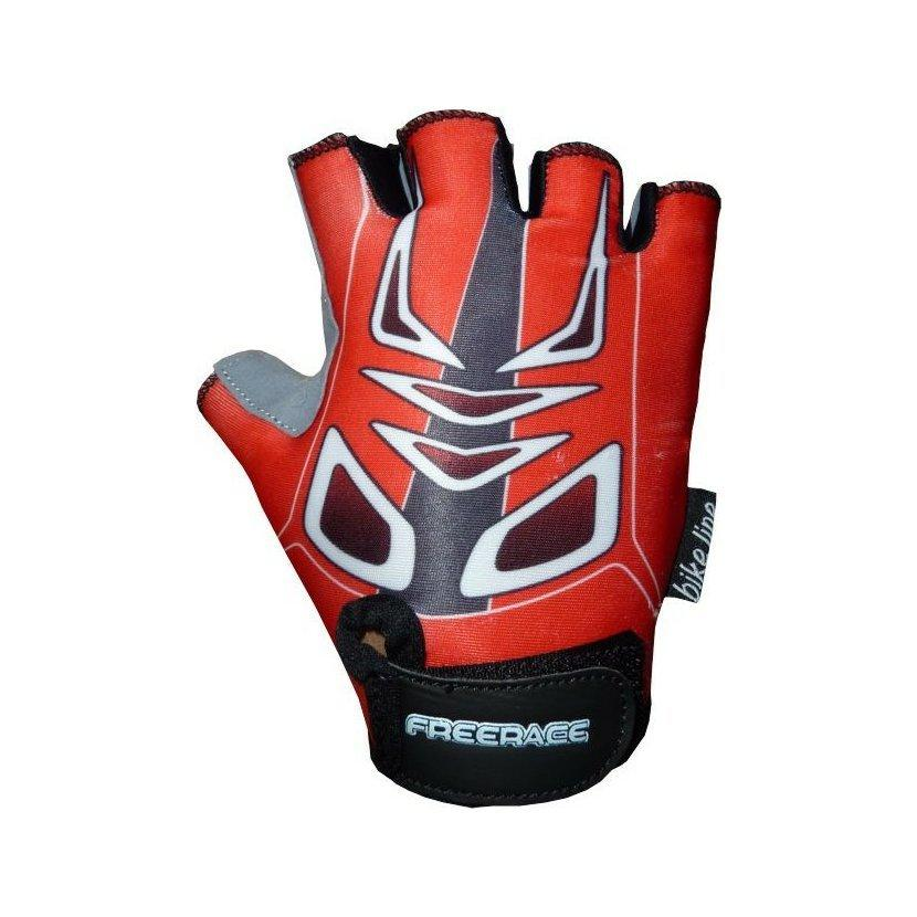 Велоперчатки детские Freerace Mike FC-1005 (размер 4) Red