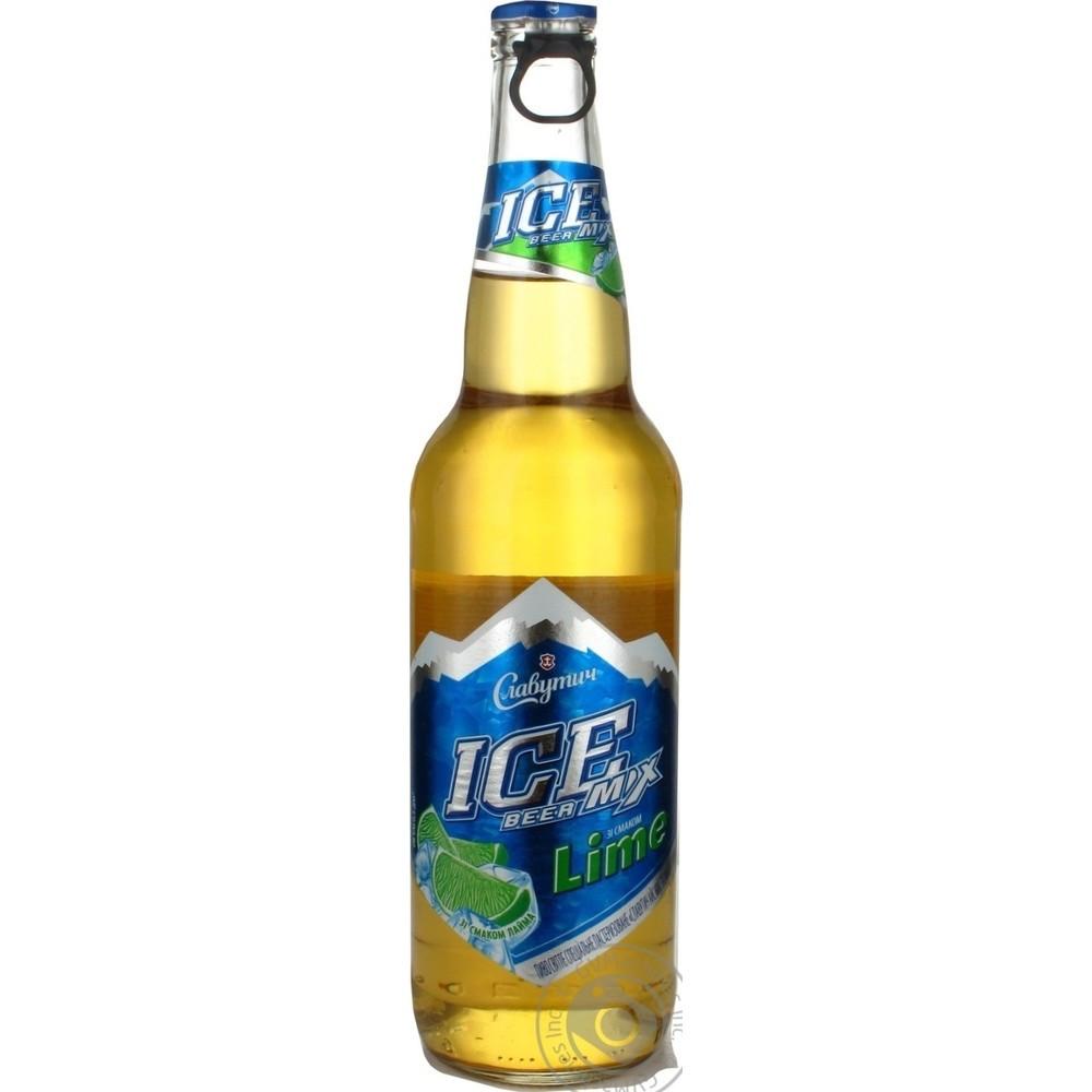 Пиво Айс мікс Лайм  пет  0,5л