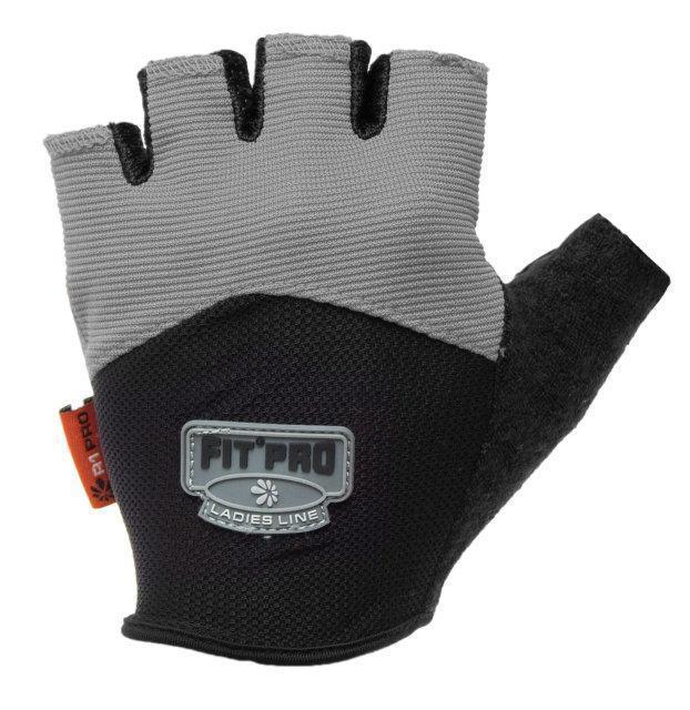 Перчатки для тяжелой атлетики Power System FP-06 L Grey