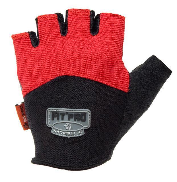 Перчатки для тяжелой атлетики Power System FP-06 L Red