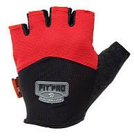 Перчатки для тяжелой атлетики Power System FP-06 L Red, фото 1
