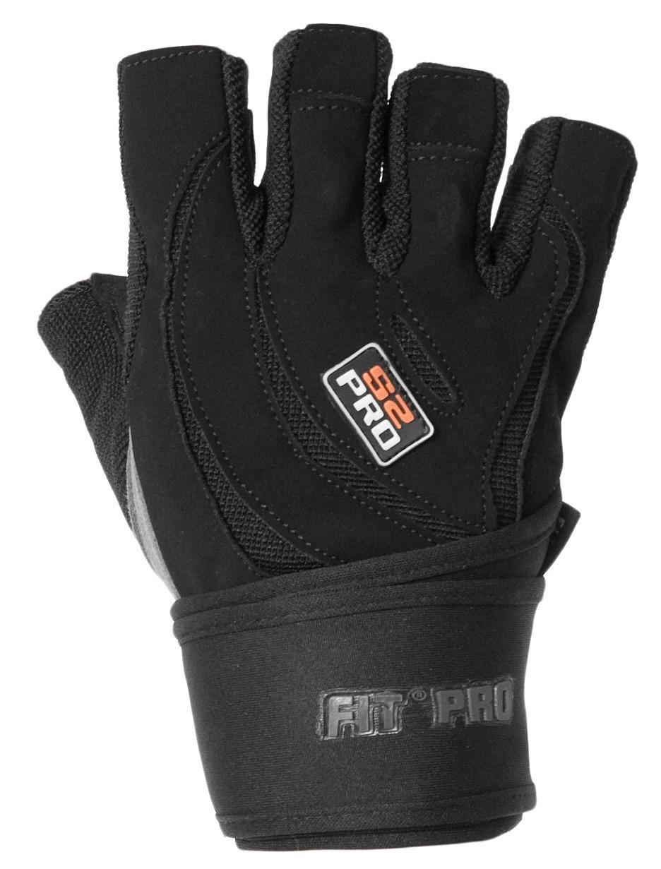 Перчатки для тяжелой атлетики Power System S2 Pro FP-04 L Black