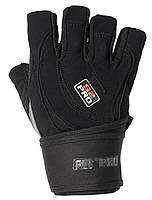 Перчатки для тяжелой атлетики Power System S2 Pro FP-04 L Black, фото 1