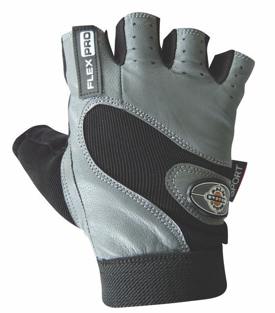 Перчатки для фитнеса и тяжелой атлетики Power System Flex Pro PS-2650 XL Grey