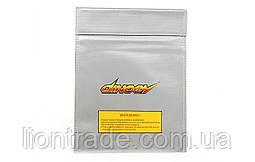 Чехол DINOGY 23x30см для безопасного хранения и зарядки LiPol аккумуляторов