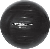 Мяч для фитнеса и гимнастики POWER SYSTEM PS-4018 85 cm Black, фото 1