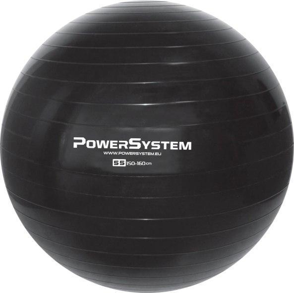 Мяч для фитнеса и гимнастики POWER SYSTEM PS-4011 55cm Black