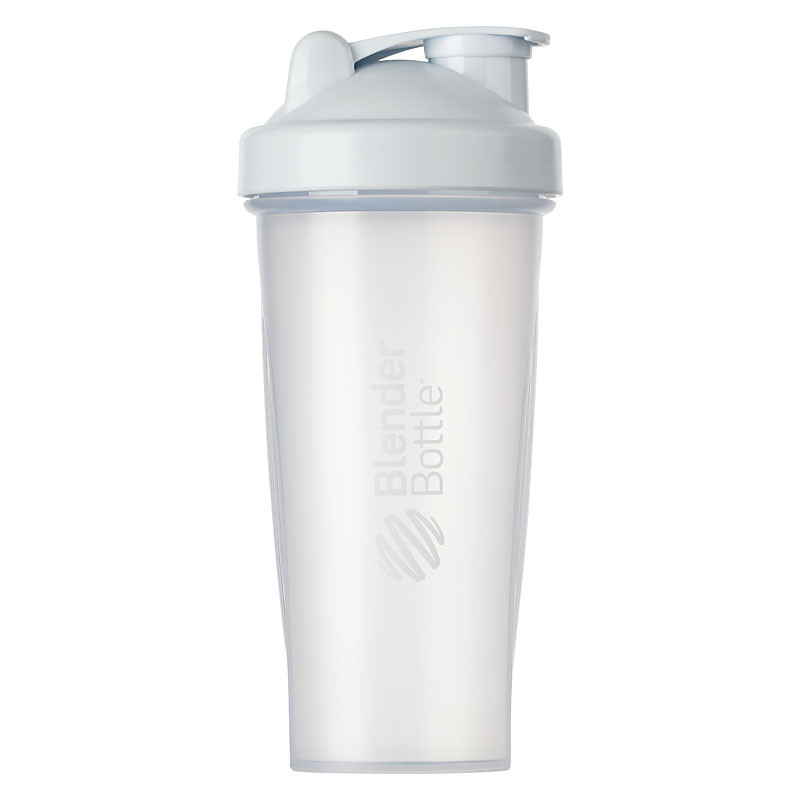 Шейкер спортивный BlenderBottle Classic 820ml Clear/White