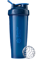 Спортивный шейкер BlenderBottle Classic Loop 940ml Navy (ORIGINAL), фото 1
