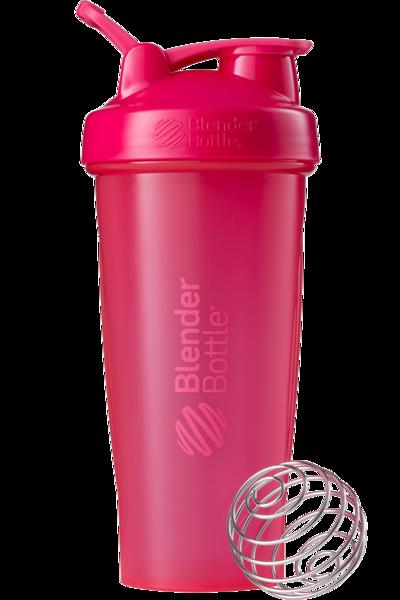 Спортивный шейкер BlenderBottle Classic Loop 820ml Pink FL (ORIGINAL)