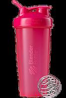 Спортивный шейкер BlenderBottle Classic Loop 820ml Pink FL (ORIGINAL), фото 1