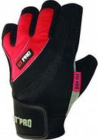 Перчатки для тяжелой атлетики Power System S1 Pro FP-03 Red S, фото 1