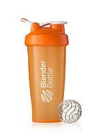Шейкер спортивный BlenderBottle Classic Loop 28oz/820ml Оранжевый (ORIGINAL), фото 1
