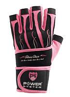 Перчатки для фитнеса и тяжелой атлетики женские Power System Fitness Chica PS-2710 S Pink, фото 1