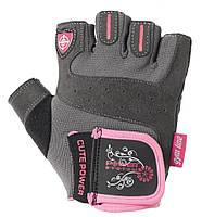 Перчатки для фитнеса и тяжелой атлетики Power System Cute Power PS-2560 женские L Pink, фото 1