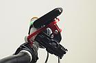 Крепление вело-компа или телефона (с доп наклейкой) на болты выноса + подвесная консоль для фонаря / GoPro, фото 4