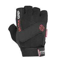 Перчатки для фитнеса и тяжелой атлетики Power System Ultra Grip PS-2400 M Black, фото 1