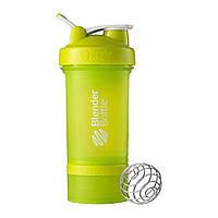 Шейкер спортивный BlenderBottle ProStak с шариком 650 мл зеленый, фото 1