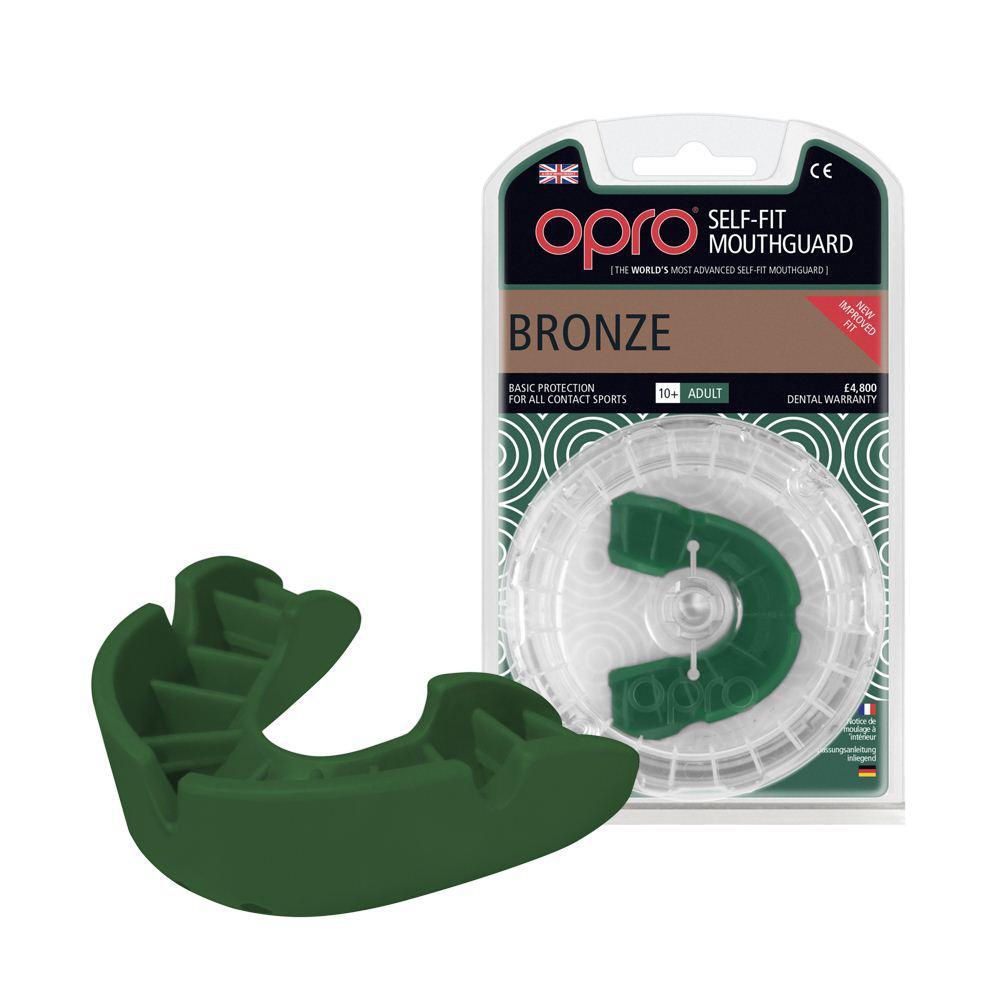 Капа OPRO Bronze Green(art.002184003)