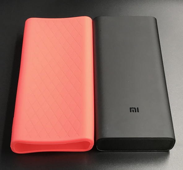 Чехол для Xiaomi Power Bank 3 Pro 20000 mAh / 3 20000 mAh Super Flash Black Розовый