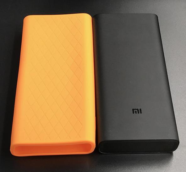 Чехол для Xiaomi Power Bank 3 Pro 20000 mAh / 3 20000 mAh Super Flash Black Оранжевый