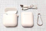 Беспроводные наушники-гарнитура i9S-TWS с PowerBank и чехлом, белый, фото 4