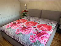 Летнее одеяло покрывало евро размер, 195/205