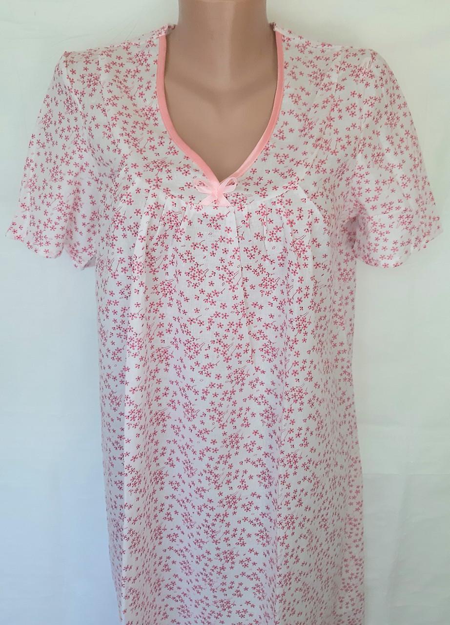 Ночная рубашка с рукавом большого размера 64 размер