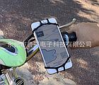 """Тримач телефону на кермо вело/мото/коляски силікон + ABS-пластик ПОВОРОТНИЙ 360 (від 4.5 ДО 6.5"""" / 165 мм), фото 8"""