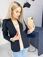Пиджак женский стильный модный качественный черный белый красный S, M, L