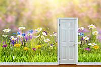 """Фото Обои """"Ромашки и полевые цветы"""", фото 1"""