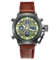 AMST 3003 Black-Green Brown Wristband