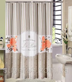 Тканинна шторка для ванної 180х200 см Charme
